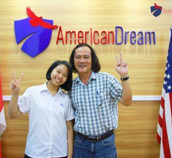 Bạn Thanh Thanh - VISA F1 - Chương trình học bổng